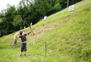 Jagdparcour Bogenschießen