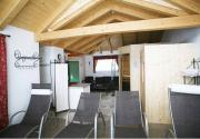 Hauseigene Dachterrassen Panorama Saunalandschaft mit Infrarot Kabine, Finnischer Sauna und Dampfkabine, Ruhebereich und Dachterrasse (für Lehrer und Betreuer)