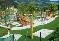 Neuer Kinderpielplatz nebenan.